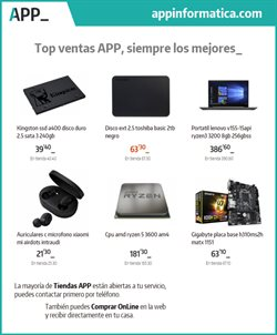 Catálogo App Informática ( 3 días más )