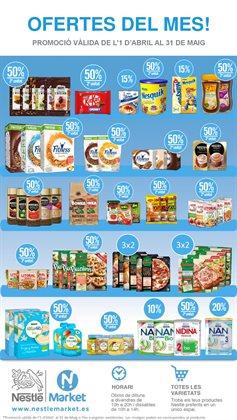 Ofertas de Hiper-Supermercados  en el folleto de Nestlé Market en Girona