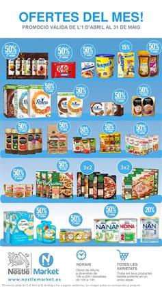 Ofertas de Nestlé Market  en el folleto de Barcelona
