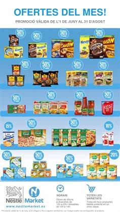 Ofertas de Hiper-Supermercados  en el folleto de Nestlé Market en Sant Cugat del Vallès