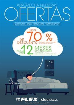 Ofertas de Rebajas  en el folleto de Flex Noctalia en Barcelona
