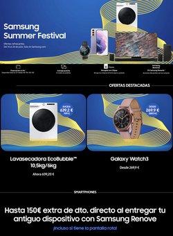 Catálogo Samsung ( 2 días más)