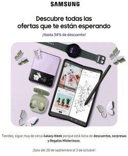 Ofertas de Samsung en el catálogo de Samsung ( 8 días más)