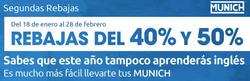 Ofertas de Munich  en el folleto de Alcalá de Henares