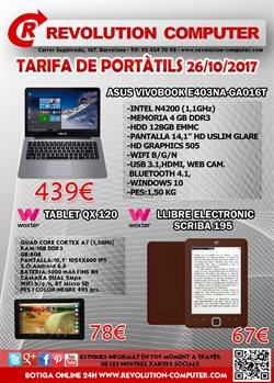 Ofertas de Revolution Computer  en el folleto de Barcelona