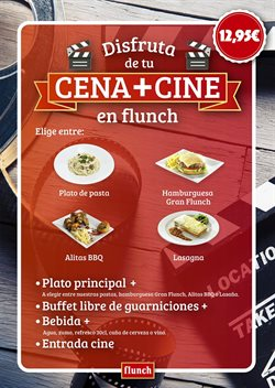 Ofertas de Restauración  en el folleto de Flunch en Madrid