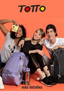 Ofertas de mochilas escolares en el catálogo de Totto ( Publicado ayer)