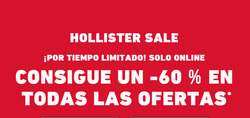 Ofertas de Hollister  en el folleto de Madrid