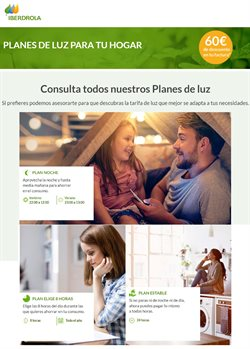 Ofertas de Iberdrola  en el folleto de Segovia