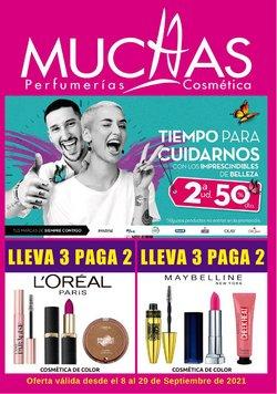 Ofertas de Muchas Perfumerías en el catálogo de Muchas Perfumerías ( 12 días más)