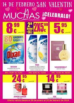 Ofertas de Perfumerías y belleza  en el folleto de Muchas Perfumerías en Ourense