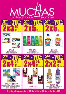 Ofertas de Muchas Perfumerías  en el folleto de Ferrol