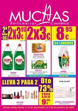 Ofertas de Perfumerías y belleza  en el folleto de Muchas Perfumerías en Riveira