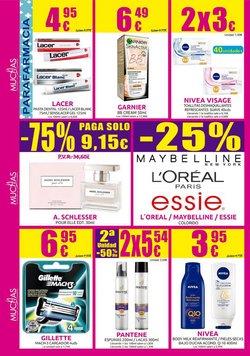 Ofertas de Gillette en Muchas Perfumerías