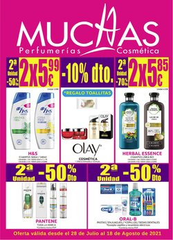 Ofertas de Muchas Perfumerías en el catálogo de Muchas Perfumerías ( Publicado ayer)