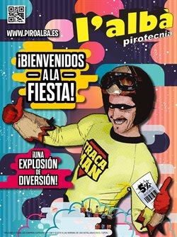 Ofertas de Ocio  en el folleto de Pirotecnia L'Albà en Cartagena