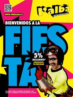 Ofertas de Pirotecnia L'Albà  en el folleto de Cartagena