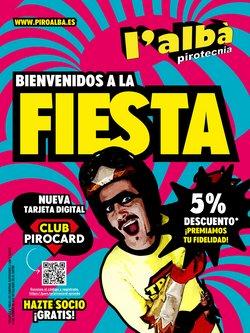 Ofertas de Ocio en el catálogo de Pirotecnia L'Albà en Molina de Segura ( Más de un mes )