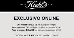 Ofertas de Kiehls  en el folleto de Madrid