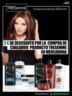 Ofertas de Perfumerías y belleza  en el folleto de TRESemmé en Sada (A Coruña)