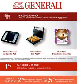 Ofertas de Bancos y seguros  en el folleto de Generali Seguro de Hogar en Alcalá de Henares