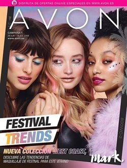 Ofertas de Perfumerías y belleza  en el folleto de AVON en Torrent