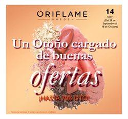 Ofertas de Oriflame  en el folleto de Barcelona