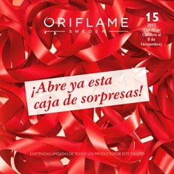Ofertas de Oriflame  en el folleto de Valencia