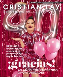 Ofertas de Perfumerías y Belleza en el catálogo de Cristian Lay ( 8 días más)