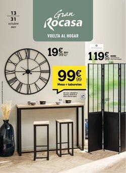 Ofertas de Hogar y Muebles en el catálogo de Rocasa ( 5 días más)