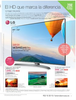 Ofertas de Smart tv  en el folleto de La tienda en casa en Madrid
