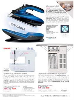 Ofertas de Tabla de planchar  en el folleto de La tienda en casa en Madrid