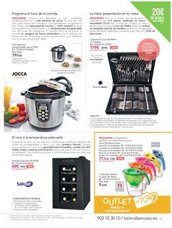 Ofertas de Cocinas  en el folleto de La tienda en casa en Las Palmas de Gran Canaria