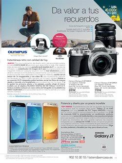 Ofertas de Cámara de fotos  en el folleto de La tienda en casa en Alcalá de Henares