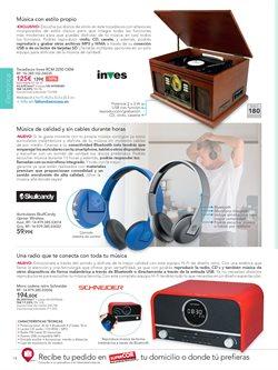 Ofertas de Microcadena  en el folleto de La tienda en casa en Madrid