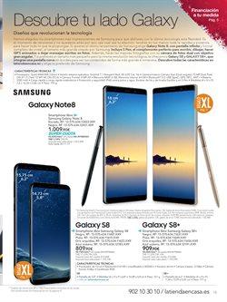 Ofertas de Samsung Galaxy S8  en el folleto de La tienda en casa en Alcalá de Henares