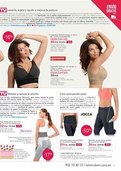 Ofertas de Ropa interior femenina  en el folleto de La tienda en casa en Leganés