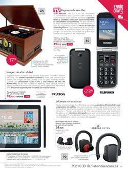 Ofertas de Tablet  en el folleto de La tienda en casa en Las Palmas de Gran Canaria