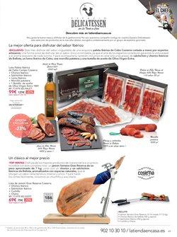 Ofertas de Paleta ibérica de cebo  en el folleto de La tienda en casa en León