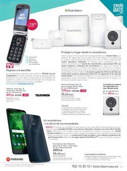 Ofertas de Motorola  en el folleto de La tienda en casa en Zaragoza