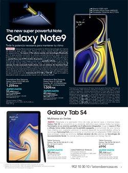 Ofertas de Smartphones Samsung  en el folleto de La tienda en casa en Alcalá de Henares