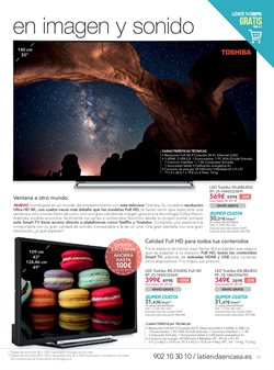 Ofertas de Toshiba  en el folleto de La tienda en casa en San Sebastián de los Reyes