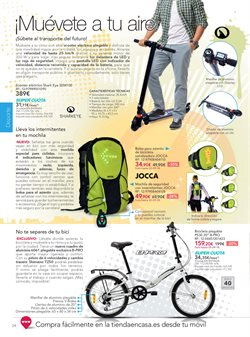 Ofertas de Bicicleta plegable  en el folleto de La tienda en casa en Madrid