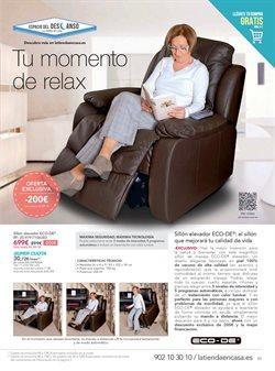 Ofertas de Sillones  en el folleto de La tienda en casa en Madrid