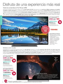 Ofertas de Toshiba  en el folleto de La tienda en casa en Madrid