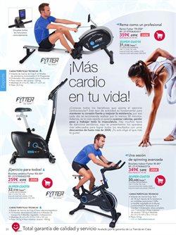 Ofertas de Bicicleta indoor  en el folleto de La tienda en casa en Madrid
