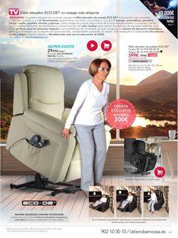 Ofertas de Sillón relax  en el folleto de La tienda en casa en Madrid