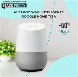 Ofertas de Google Home en La tienda en casa