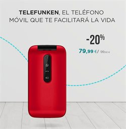 Ofertas de Teléfono móvil en La tienda en casa