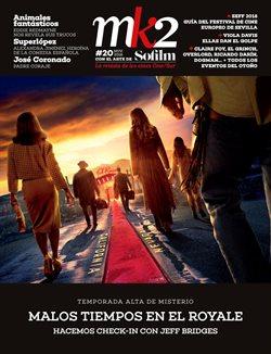 Ofertas de Ocio  en el folleto de CineSur en Chiclana de la Frontera
